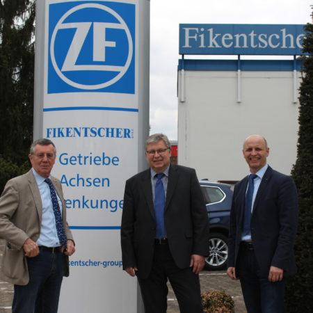 Besuch Hr. Ernst ZF